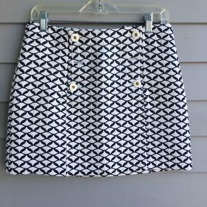 VINEYARD VINES Sailor Skirt in Jacquard Jersey 4